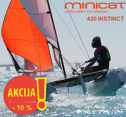 Minicat 420 INSTINCT  -  AKCIJA - Novo leto2020 for sale: 4455.-EUR