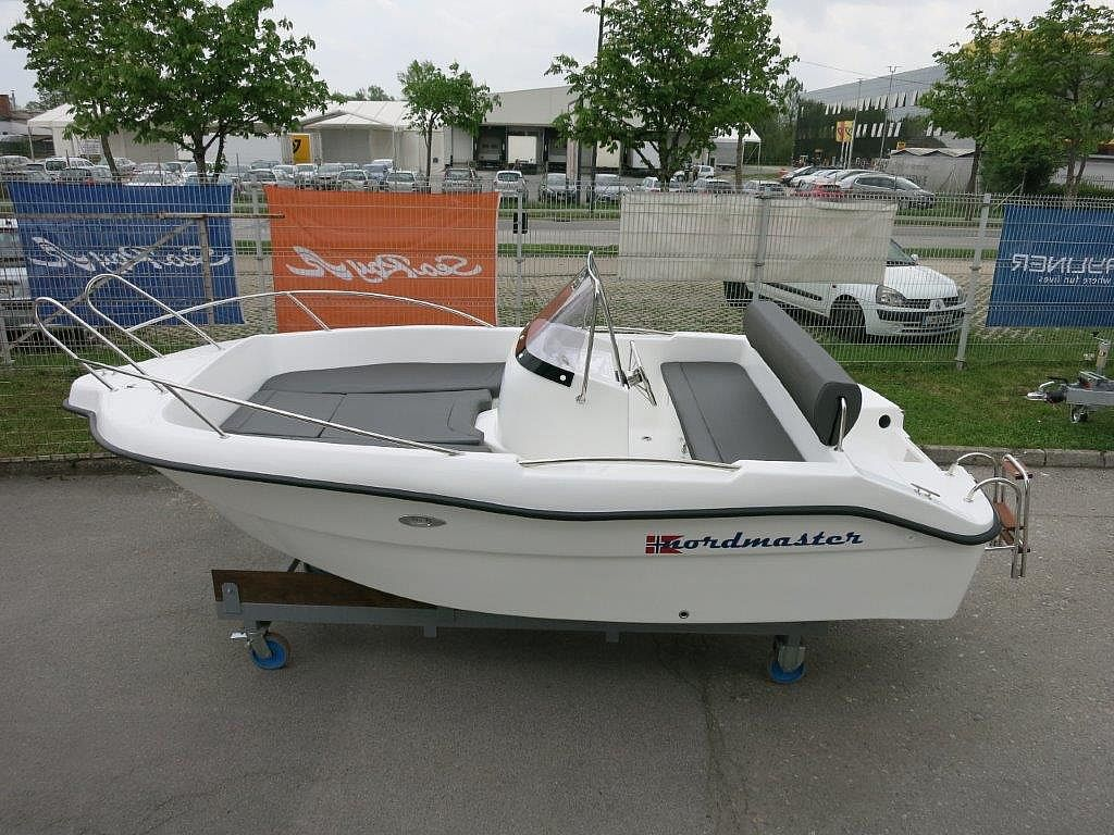 Nordmaster 450 Open + Mercury F40 - RAZPRODAJA2019 for sale: 12560.-EUR
