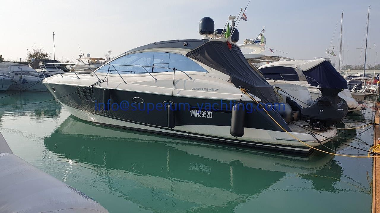 Absolute 47 HT2009 for sale: 295000.-EUR